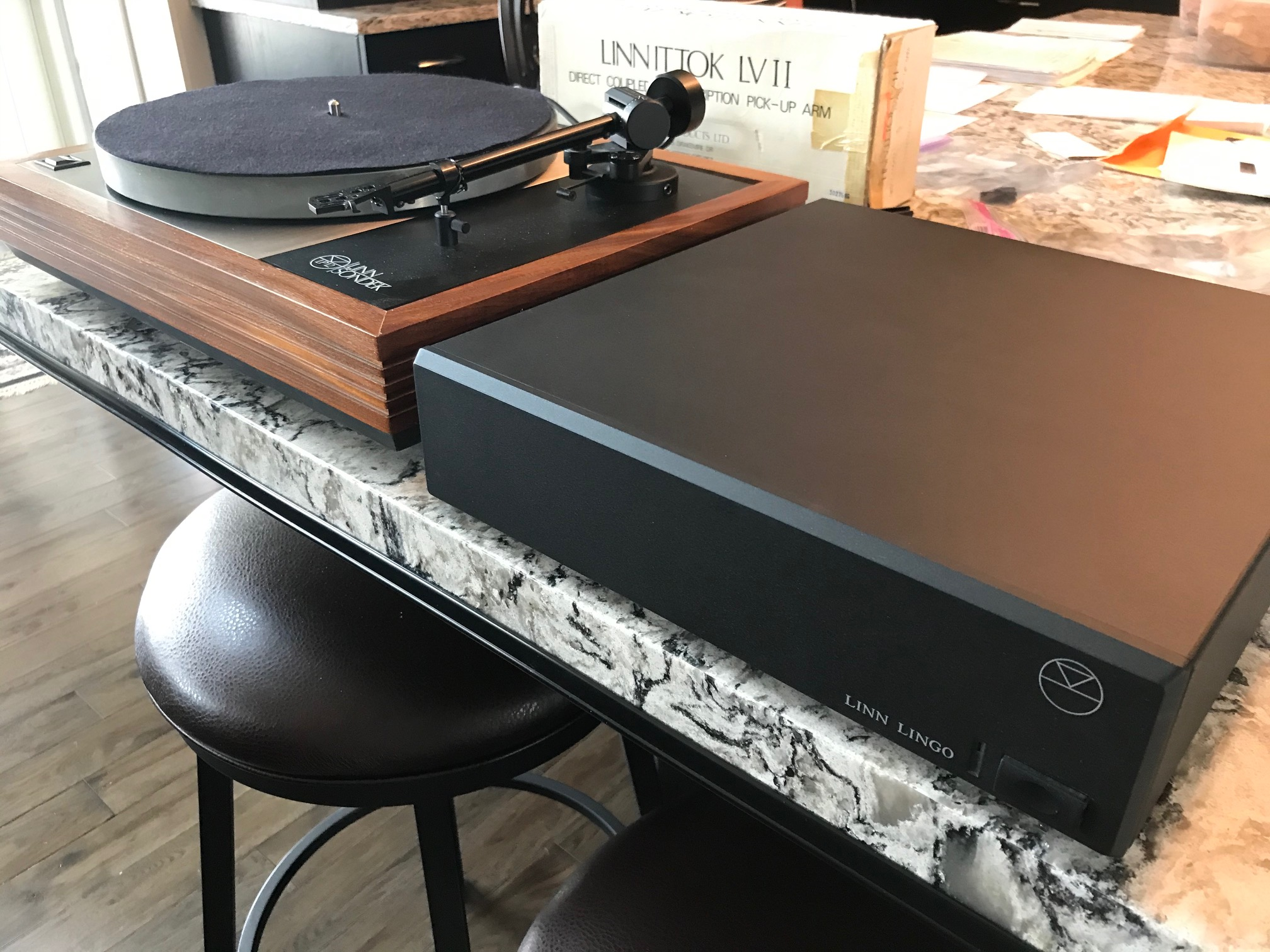 Linn LP12 With Ittok LV11 And Lingo PSU